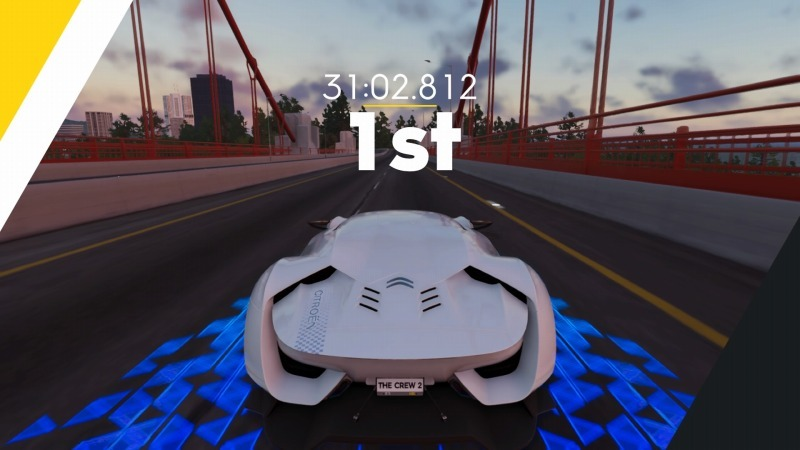 ゲーム「THE CREW2 ピーキー枠のGTの運転楽しいです」_b0362459_20305518.jpg