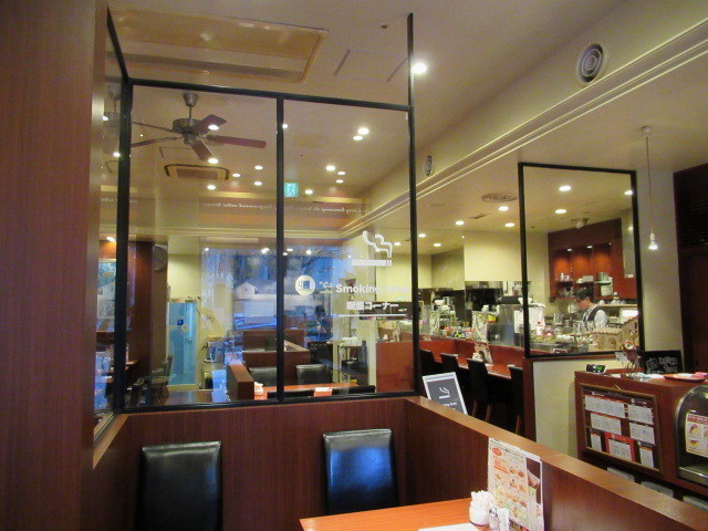 カフェ三番館・なんば店 * OCATに早朝到着した時の大阪モーニング♪_f0236260_00580128.jpg