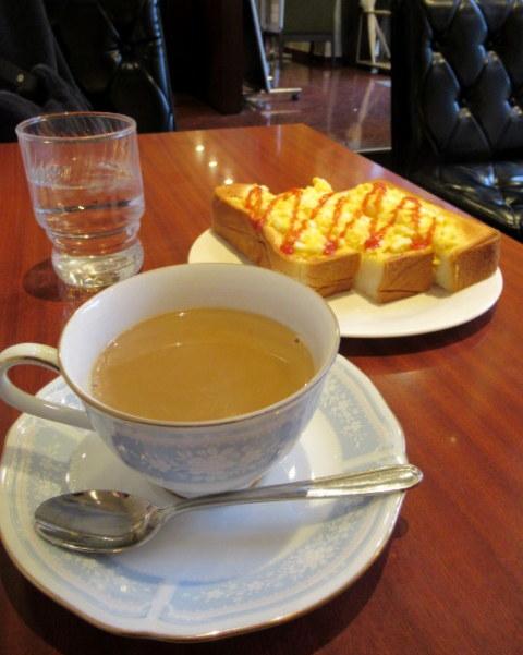 カフェ三番館・なんば店 * OCATに早朝到着した時の大阪モーニング♪_f0236260_01012964.jpg