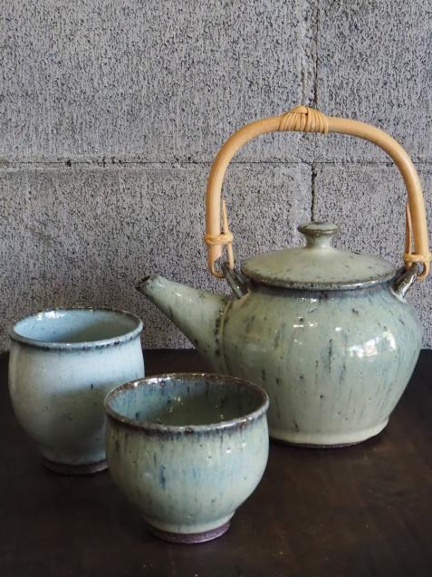 工房つちみ/土瓶と湯のみと汲み出しと。_b0173176_17142613.jpg