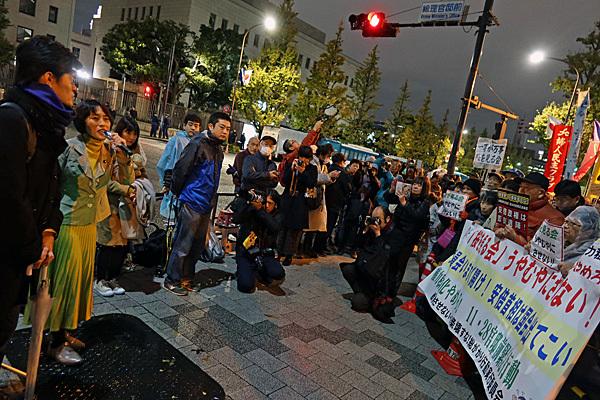 「桜を見る会」うやむやにさせない!11・28官邸前緊急行動_a0188487_18231635.jpg