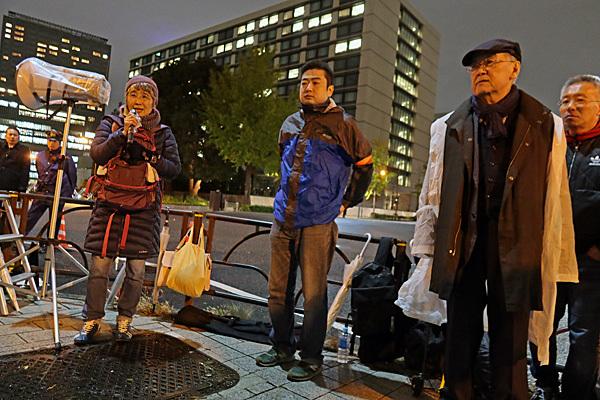 「桜を見る会」うやむやにさせない!11・28官邸前緊急行動_a0188487_18235796.jpg