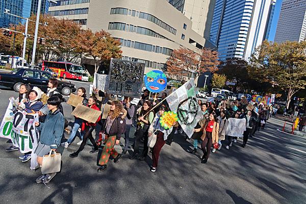 Global Climate Strike No Nukes No War No Abe_a0188487_20133889.jpg