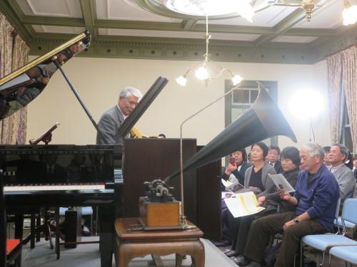 蓄音機による往年のクラシック名曲演奏を行う_c0075701_23241013.jpg
