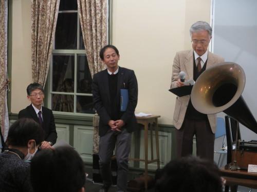 蓄音機による往年のクラシック名曲演奏を行う_c0075701_23260360.jpg