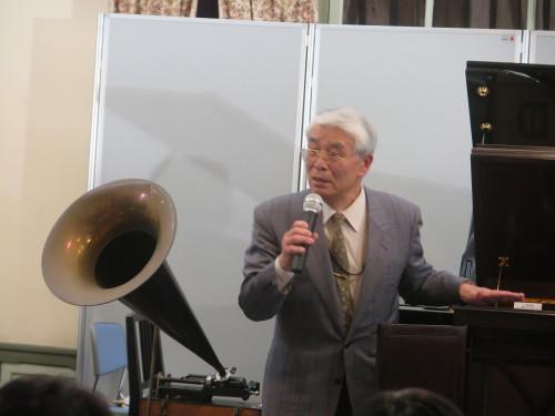 蓄音機による往年のクラシック名曲演奏を行う_c0075701_23273466.jpg
