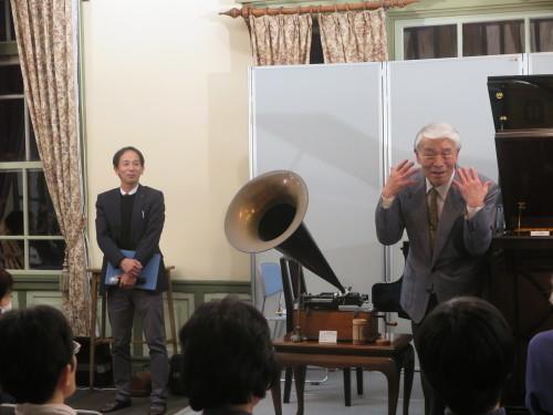 蓄音機による往年のクラシック名曲演奏を行う_c0075701_23514076.jpg
