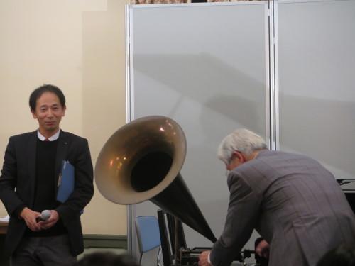 蓄音機による往年のクラシック名曲演奏を行う_c0075701_23515985.jpg