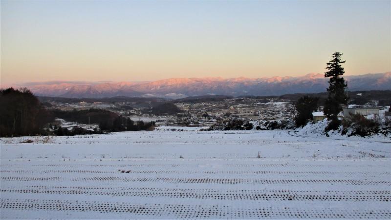 飯縄高原雪景色_b0163804_10593509.jpg