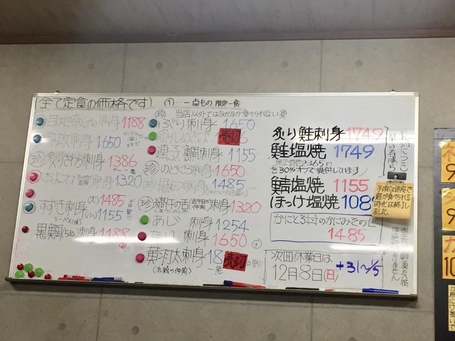 おはよう堂  黒ムツ・ネギトロ丼_e0115904_15012635.jpg