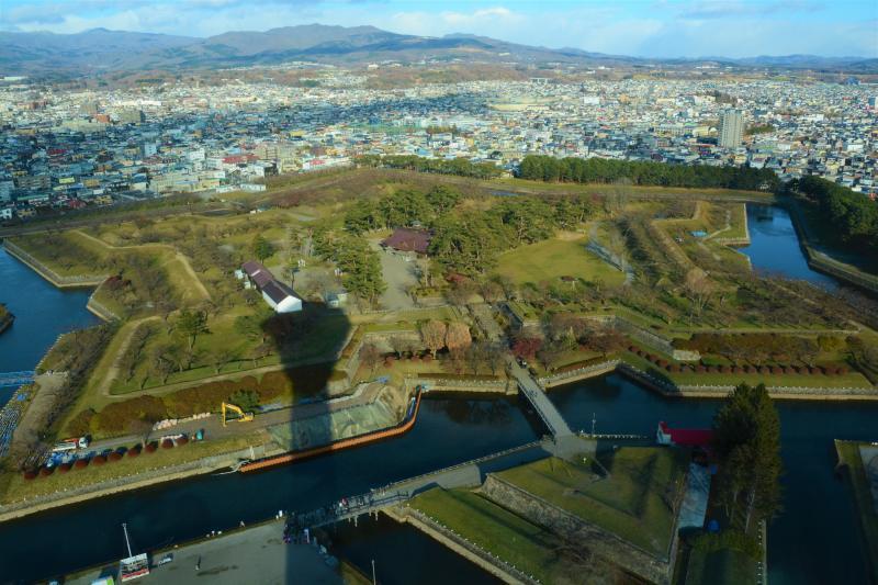 新幹線で北海道へ(1)函館五稜郭_a0148206_19252446.jpg