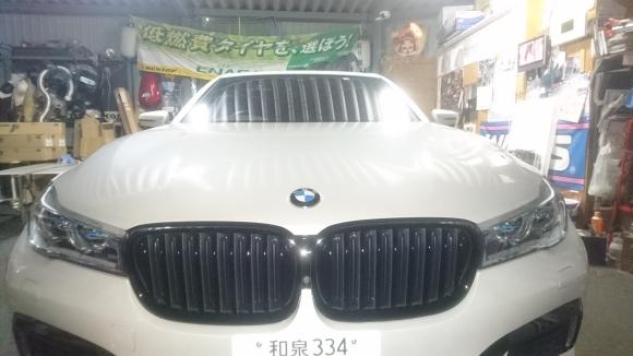 BMW 7 シリーズ カーフィルム施工 ボディコーティング 大阪 貝塚_a0197623_10514169.jpg