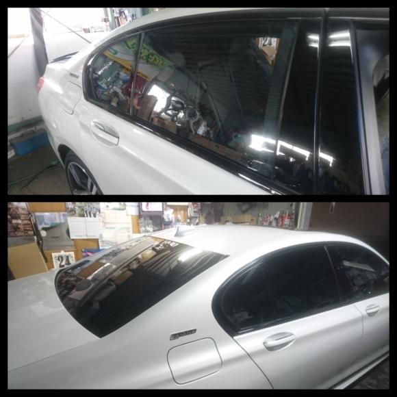 BMW 7 シリーズ カーフィルム施工 ボディコーティング 大阪 貝塚_a0197623_10515245.jpg