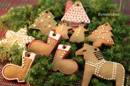 クリスマスのお菓子・キャラメルクッキー_a0392423_09152650.jpg