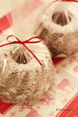 クリスマスのお菓子・クグロフ_a0392423_09152720.jpg