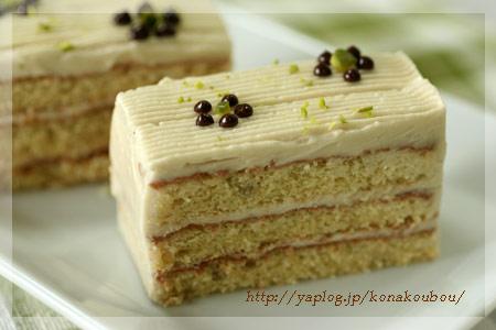 9月のお菓子・バナナとメイプルのケーキ_a0392423_09163331.jpg