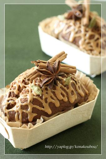 クリスマスのお菓子たち・チャイ風バターケーキ_a0392423_09165646.jpg