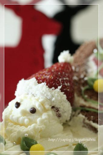 クリスマスのお菓子たち・ビュッシュ・ド・ノエル_a0392423_09165754.jpg