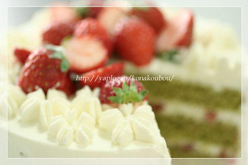 3月のお菓子・春のデコレーションケーキ_a0392423_09171155.jpg