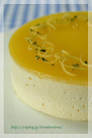 4月のお菓子・オレンジとホワイトチョコのムース_a0392423_09171417.jpg