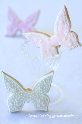 3月のお菓子・バタフライクッキー_a0392423_09181982.jpg