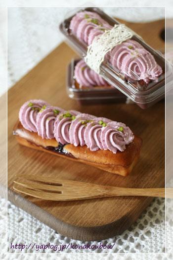 7月のお菓子・スティックチーズケーキ_a0392423_10050426.jpg