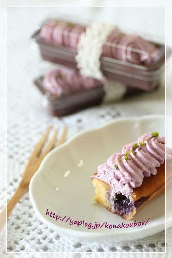 7月のお菓子・スティックチーズケーキ_a0392423_10050427.jpg
