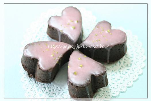 バレンタインのお菓子・バレンタインマフィン_a0392423_10065274.jpg