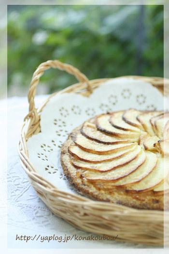 11月のお菓子・りんごのガレット_a0392423_10080430.jpg