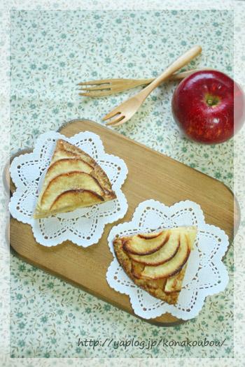 11月のお菓子・りんごのガレット_a0392423_10080452.jpg