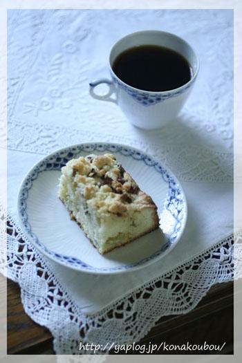 ルバーブのバターケーキと…_a0392423_23153393.jpg