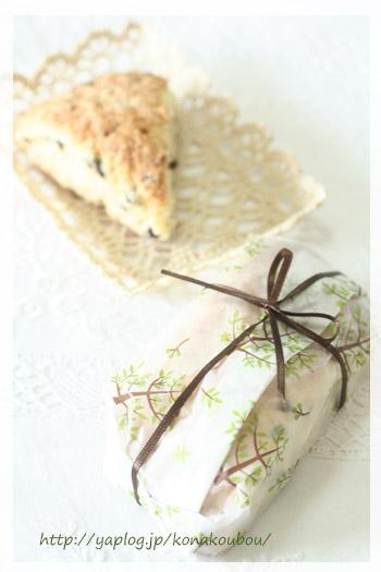 4月のお菓子・レモンとチョコのスコーン_a0392423_23163977.jpg