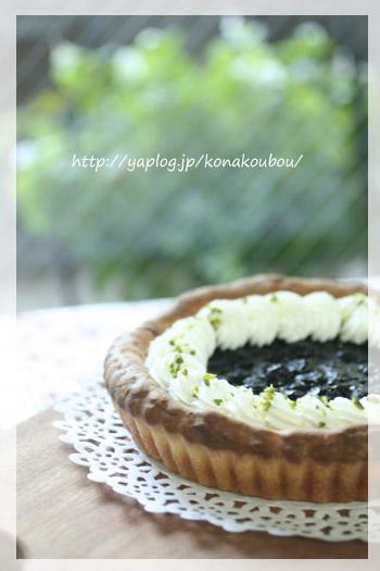 11月のお菓子・ブルーベリーのパン_a0392423_23174746.jpg