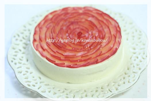 11月のお菓子・林檎とチーズのケーキ_a0392423_23174808.jpg
