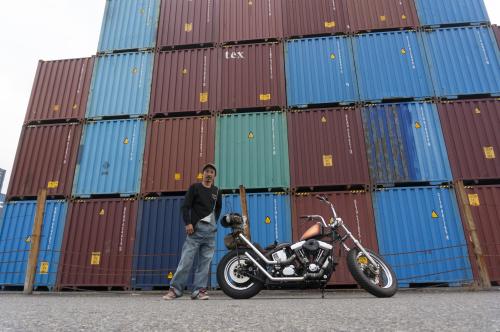 狩野 貴文 & Harley-Davidson FXSTC(2019.10.20/SHIMIZU)_f0203027_14313042.jpg