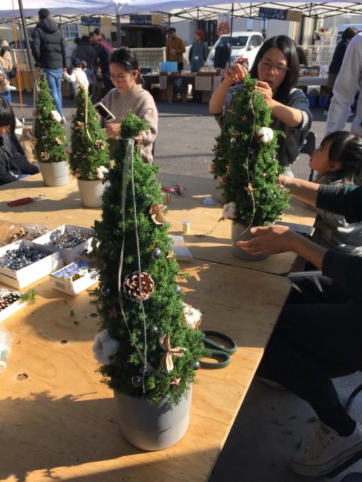 ワークショップ〜クリスマスツリー_f0155431_21234267.jpg