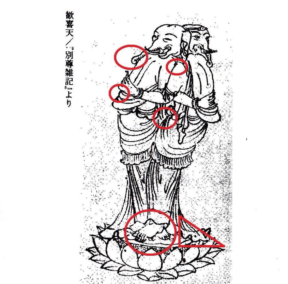 宝山寺 歓喜天_a0237937_13181178.jpg