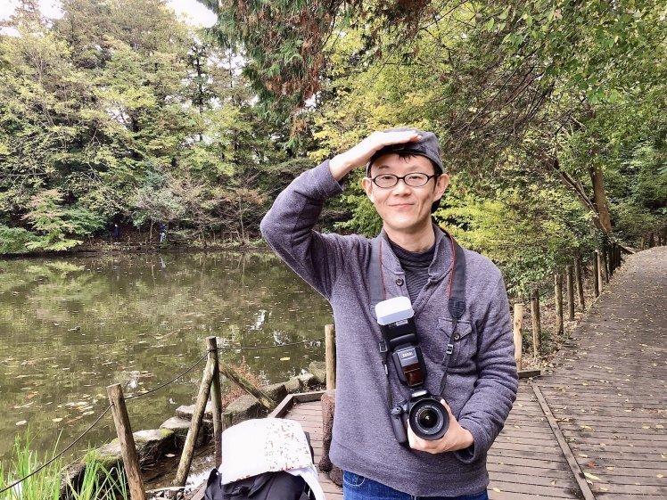紅葉の石神井公園で撮影していただいたときのおはなし~奇跡のような光に恵まれて…。^^~_b0298740_23270314.jpg