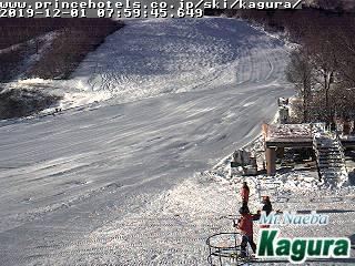 2019年12月1日 朝のかぐらスキー場ライブカメラ_e0037849_08272842.jpg