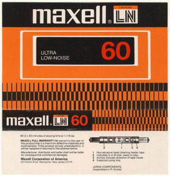 maxell LN (アメリカ向け製品)_f0232256_13335095.jpg