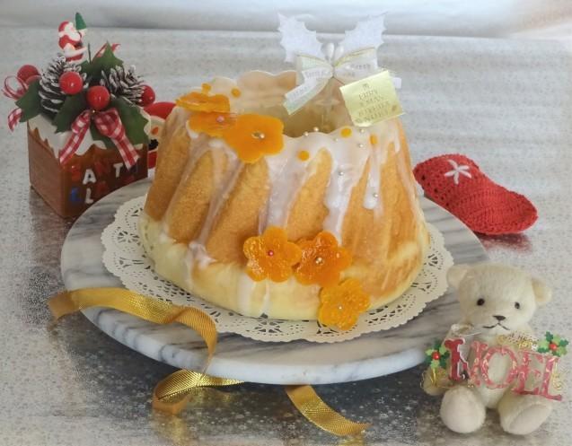 オレンジ香る♡クリスマスクグロフ_e0141159_15572858.jpg