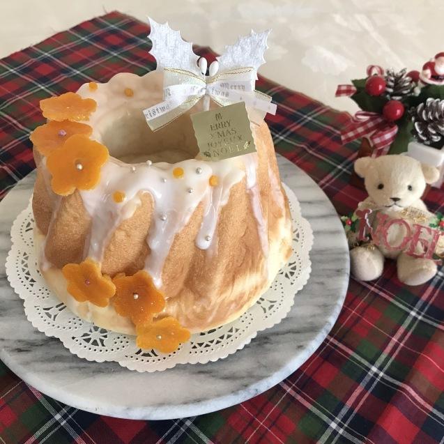 オレンジ香る♡クリスマスクグロフ_e0141159_16033269.jpeg