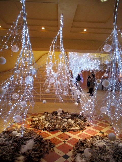 ①星降る森のクリスマス・2019 * 軽井沢 ホテルブレストンコート・館内装飾☆_f0236260_23504322.jpg