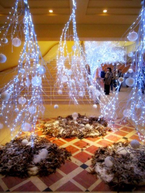 ①星降る森のクリスマス・2019 * 軽井沢 ホテルブレストンコート・館内装飾☆_f0236260_23510172.jpg