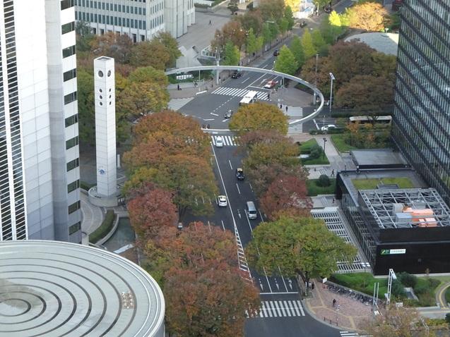 秋の「ヒルトン東京」_b0405262_17494947.jpg