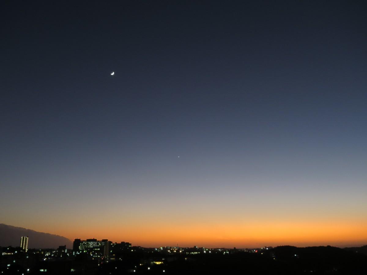 とてもきれいな夕焼けだった。_a0095470_00013964.jpg