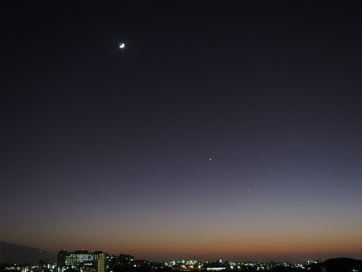 とてもきれいな夕焼けだった。_a0095470_00020290.jpg