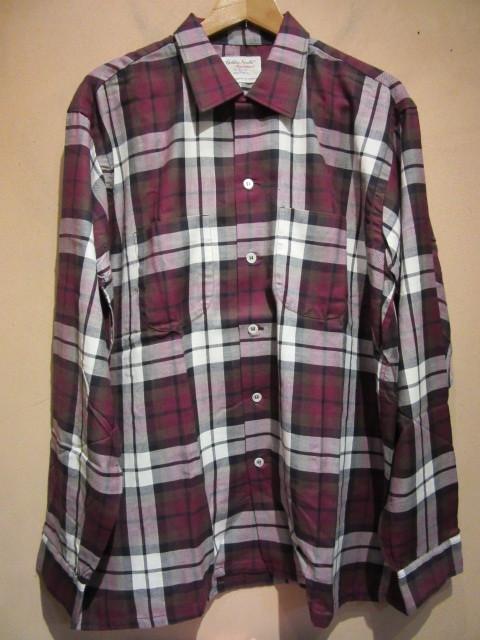 60s Deadstockシャツ_b0166471_21055893.jpg