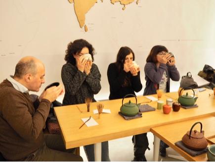 お抹茶でイタリアと繋がりたい_e0078071_22570997.jpg
