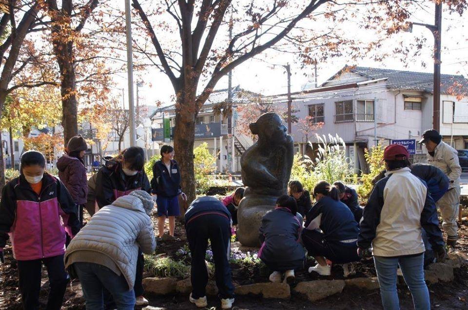 花植えイベント2日間~福岡中央公園~_a0107574_19331052.jpg